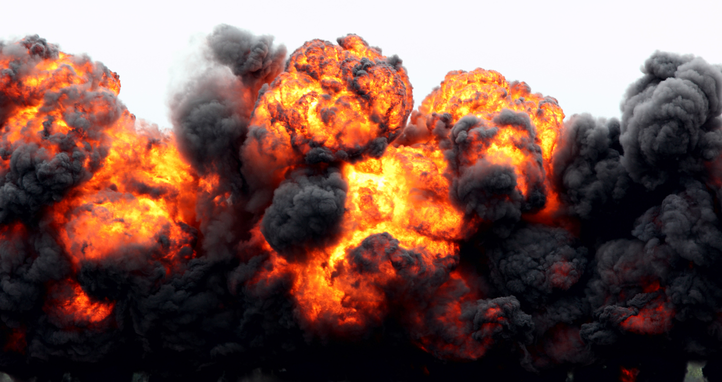 Explosion at Fertilizer Distribution Facility